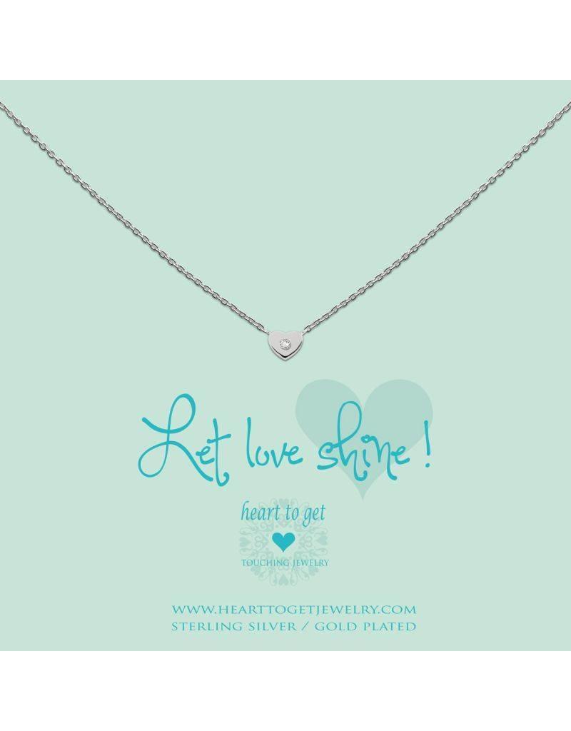 Heart to get Heart Zirkon, Let Love Shine, Silver - N194HEZ13S