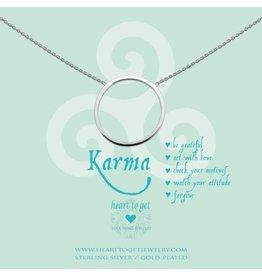 Heart to get Big Karma Silver - N237BKR14S