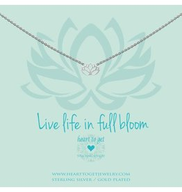 Heart to get Lotus, Live Life In Full Bloom - N258LOT15S