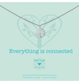 Heart to get Tree Of Live, Everything Is Connected Silver - N259TOL15S