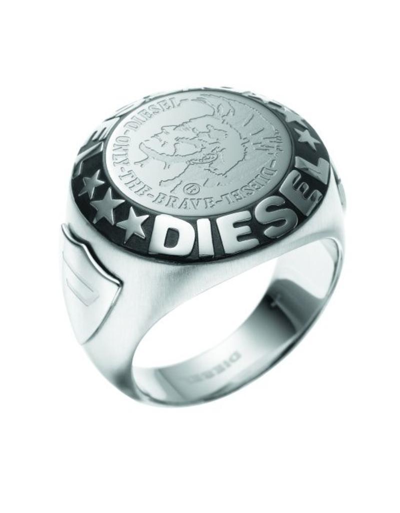 Diesel sieraden Ring maat 21 - DX0182040-21