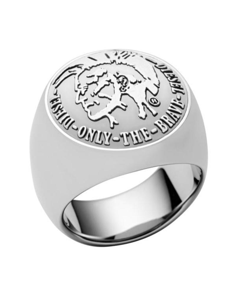 Diesel sieraden Ring basic Logo Used - DX0693040 20