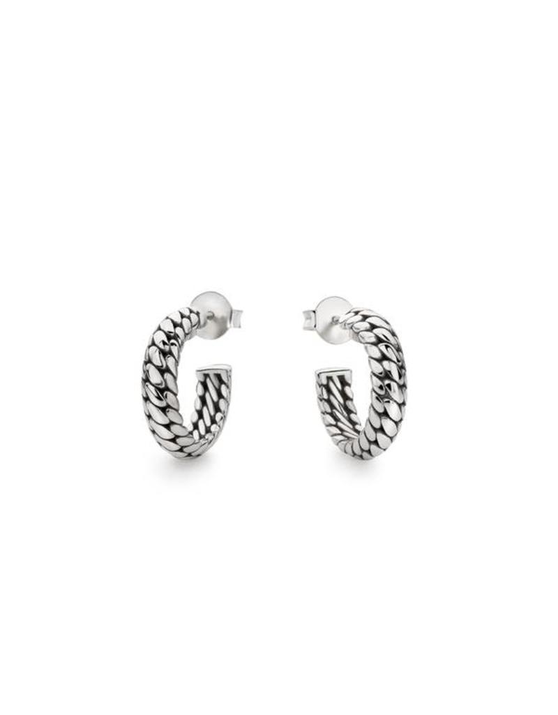 Buddha to Buddha 437 one - Ben Small Earring Silver - 437 One