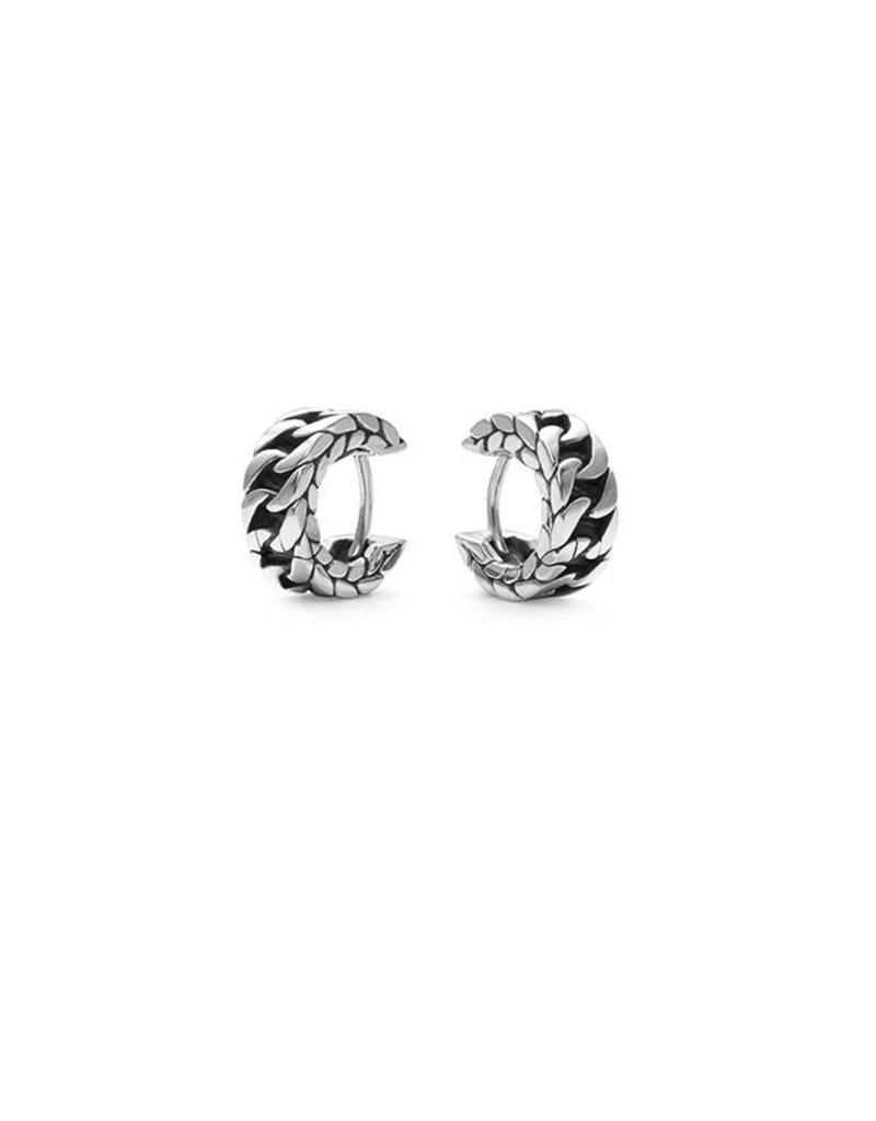 Buddha to Buddha 440 one - Esther Small Earring Silver - 440 One