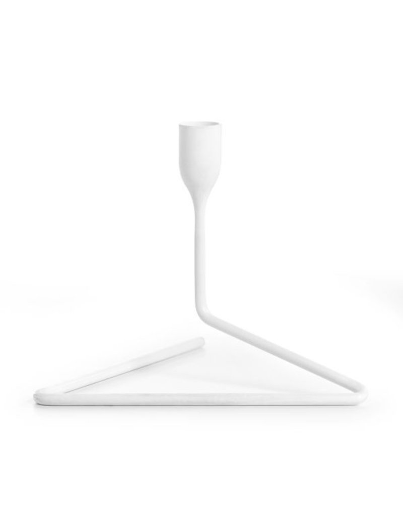 Born in Sweden Puzzle Candleholder S White - 7340145