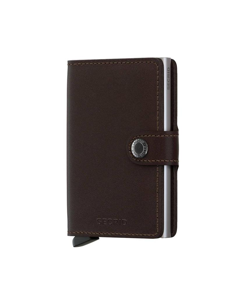 Secrid Miniwallet Dark Brown - MO-Dark Brown