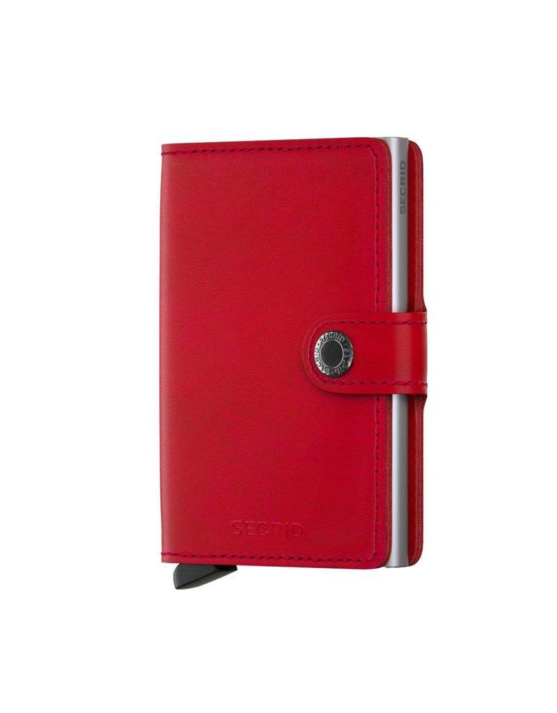 Secrid Miniwallet Red Lipstick - M-Red Lipstick