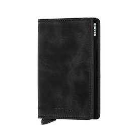 Secrid Slimwallet Vintage Black - SV-Black