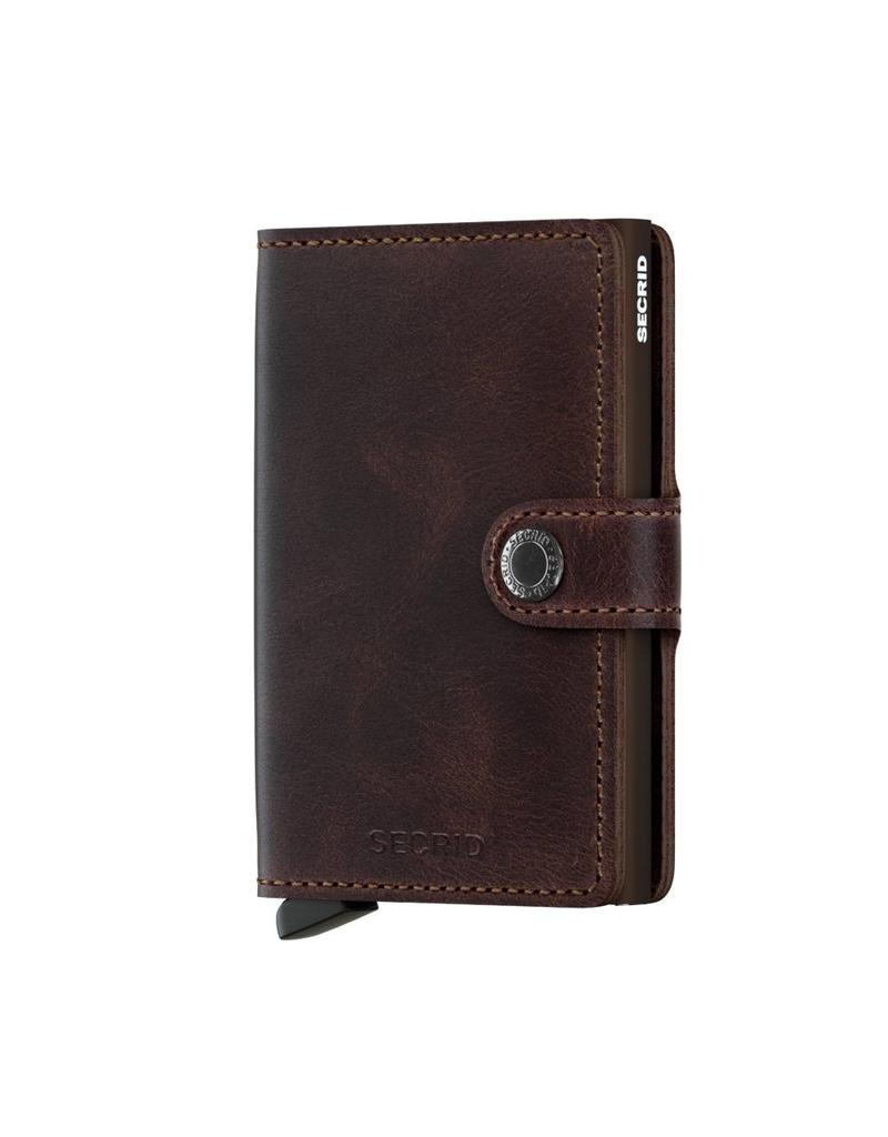 Secrid Miniwallet Vintage Chocolate - MV-Chocolate