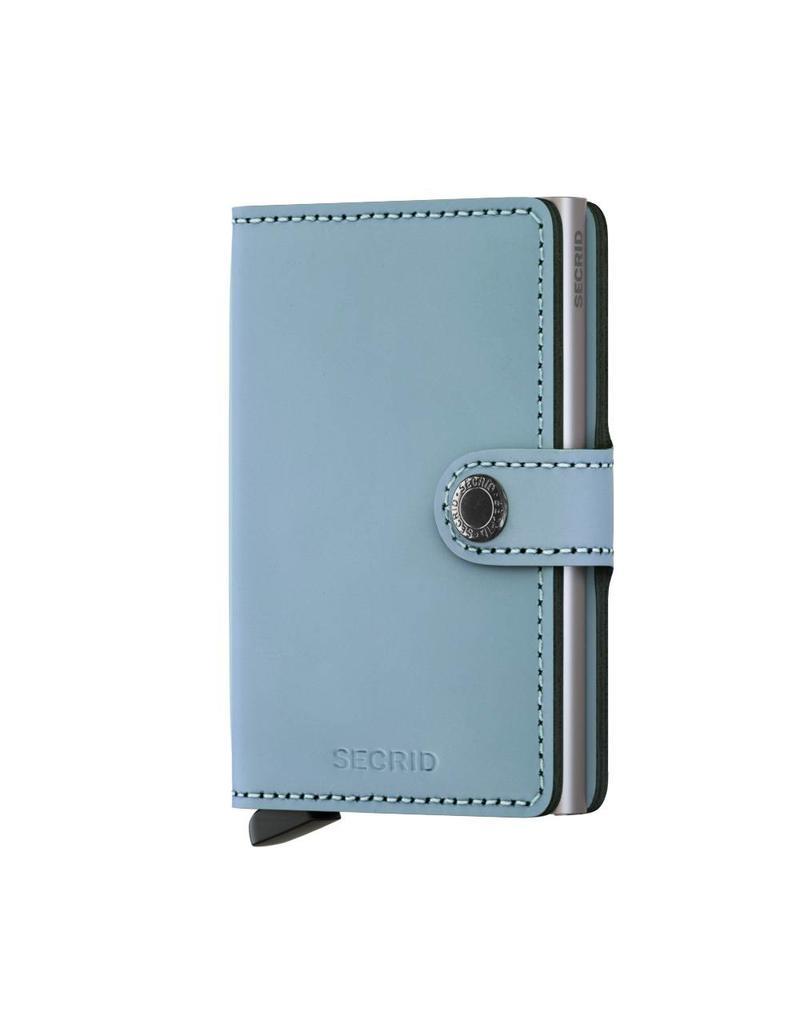 Secrid Miniwallet Matte Blue - MM-Blue