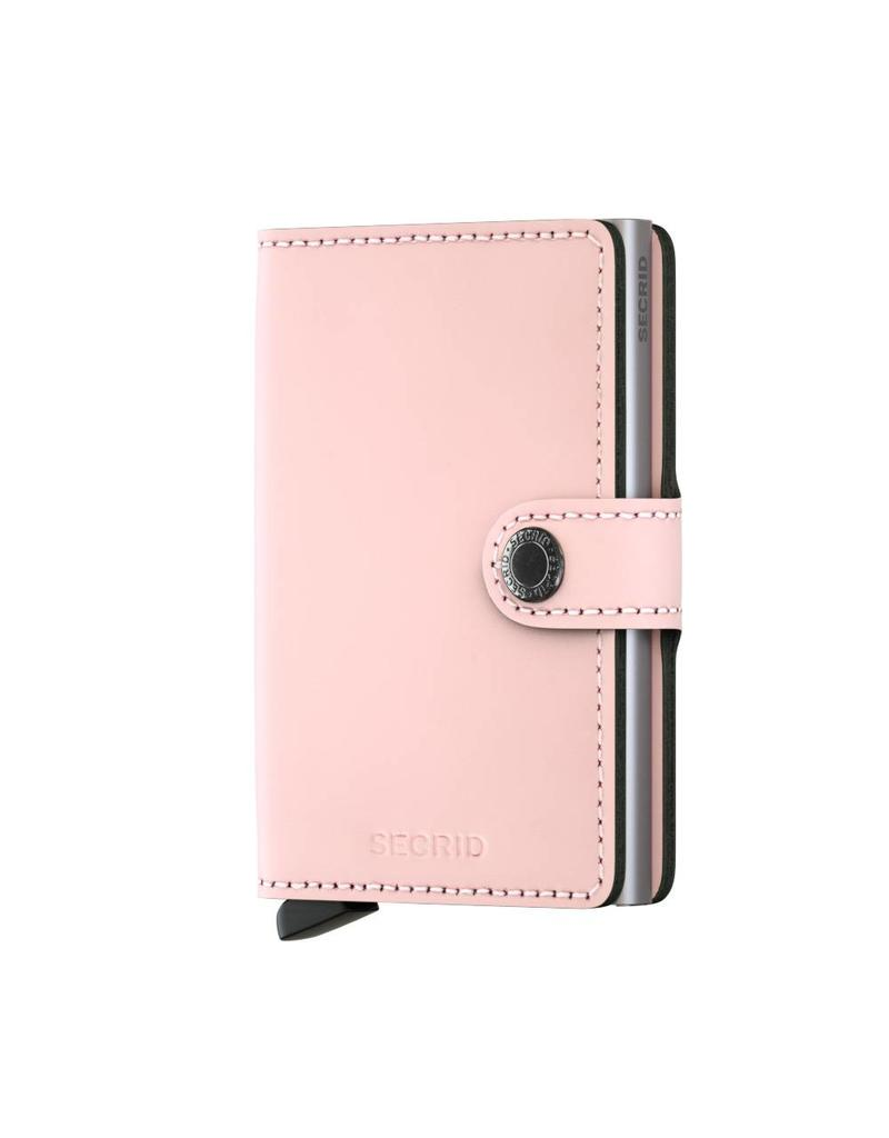 Secrid Miniwallet Matte Pink - MM-Pink