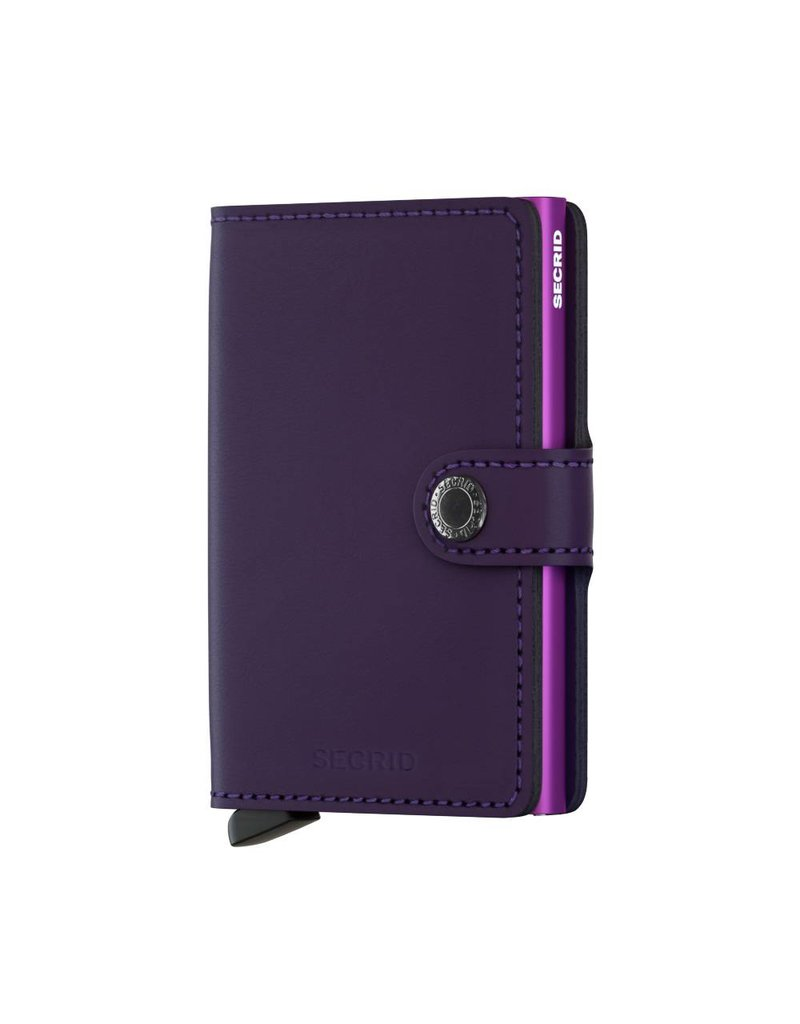 Secrid Miniwallet Matte Purple - MM-Purple