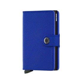 Secrid Miniwallet Crisple Blue-Black - MC-Blue-Black