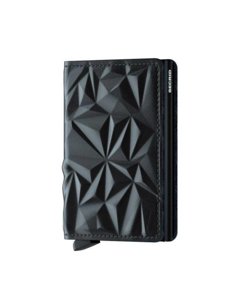 Secrid Slimwallet Cubic Black - SPr-Black
