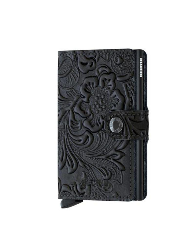 Secrid Miniwallet Ornament Black - MOr-Black