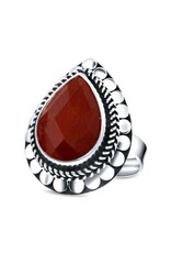 Close to Zen Little Leafs Of Joy Red Agate - 17201 Red Agate