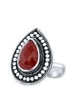 Close to Zen Rebel Flower Red Agate - 1857 Agate