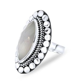 Close to Zen Little Gypsy Blessing Grey Moonstone - 1858 Moonstone