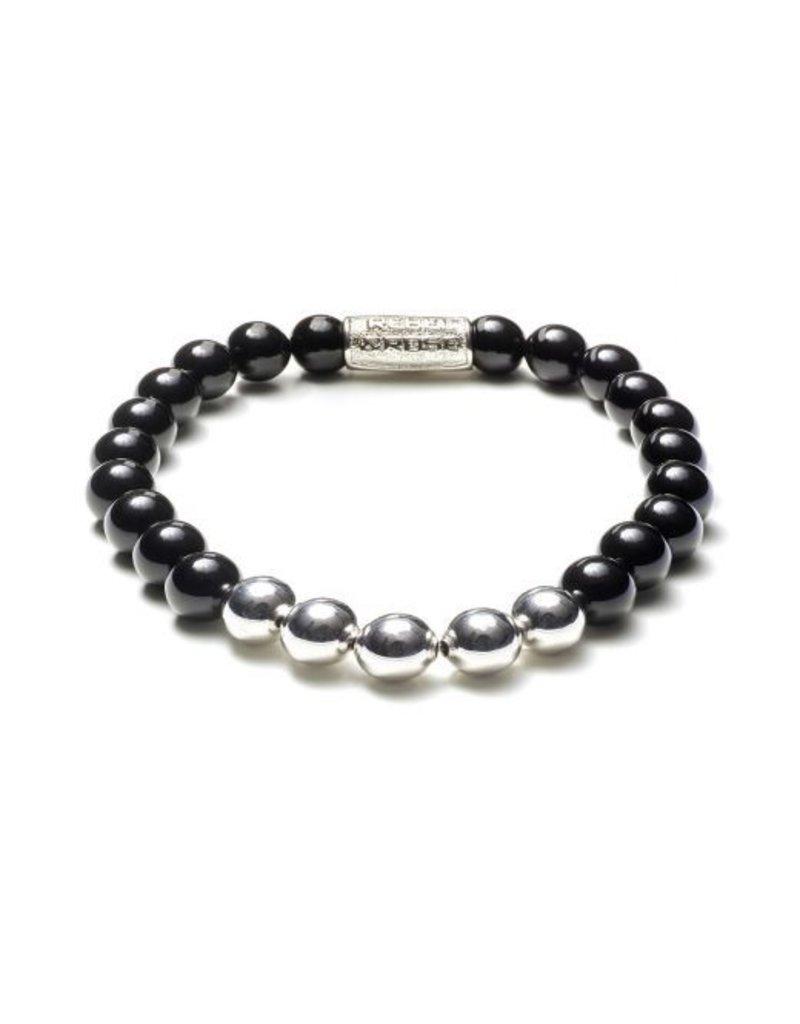 Rebel&Rose Black panther-silver-19cm - rr-80001-s-19