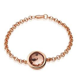 Bracelet Silver Rosegold Cambio 19cm - BRA-CAMS-03-1