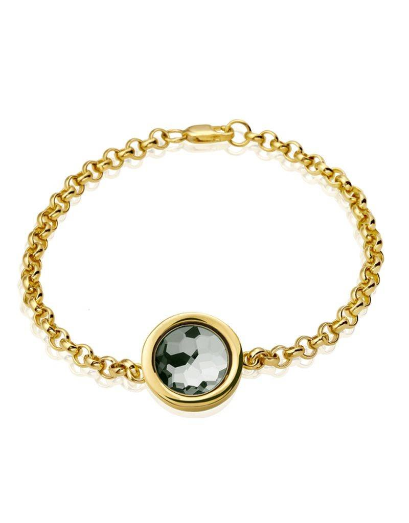 Mi Moneda Cambio bracelet gold - BRA-CAMS-02-19