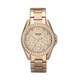 Fossil horloges Fossil Riley Rosé Big - ES2811