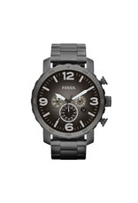 Fossil horloges Nate Roestvrijstalen Horloge - Grijs - JR1437