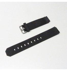 Jacob Jensen horloges Jacob Jensen Band Rubber Titanium - 17mm-Rubber-Titanium