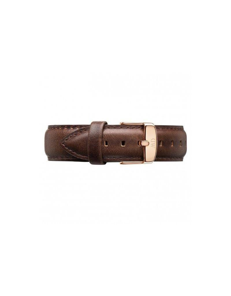 Daniel Wellington Daniel WellingtonStrap Bristol 18mm Rose gold DW00200039 - DW00200039
