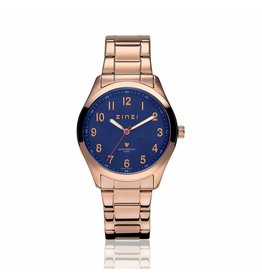 Zinzi horloges Watch Rose Blauwe Plaat - ZIW207