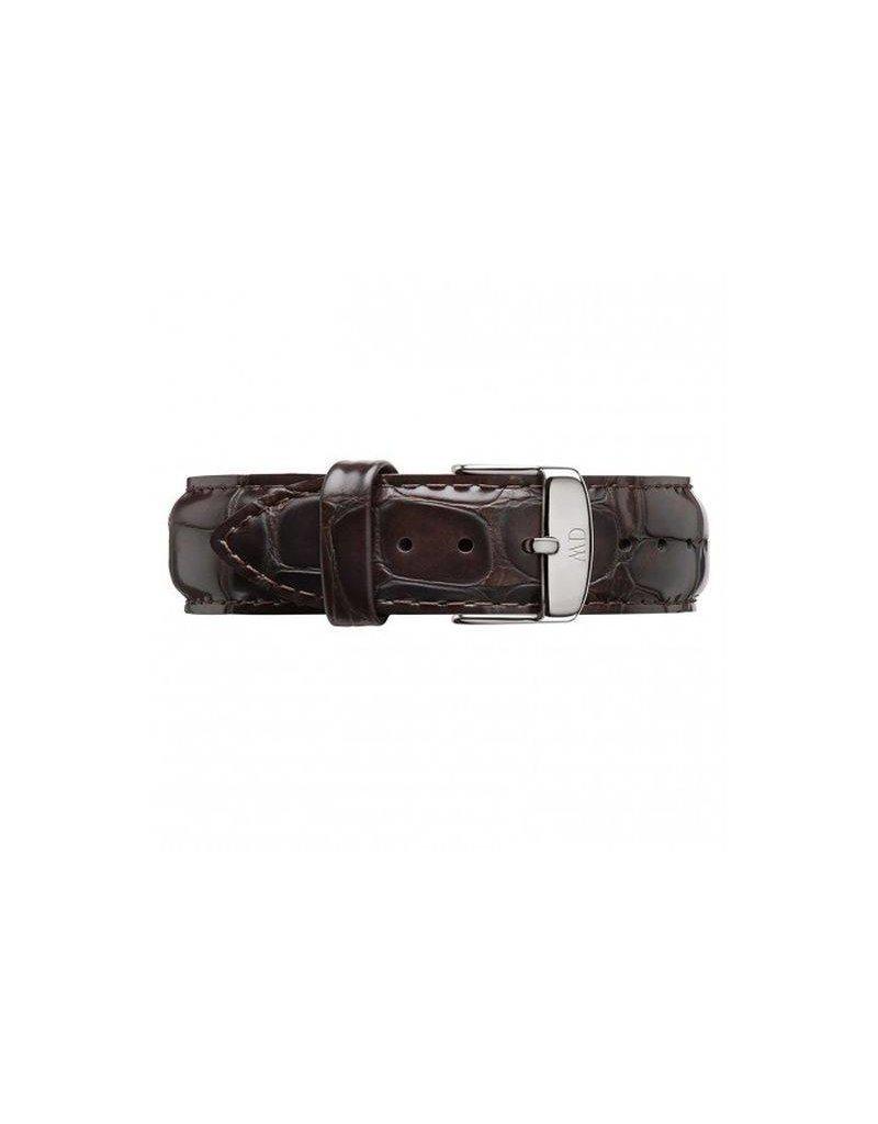 Daniel Wellington York 18mm Gesp Silver - DW00200055