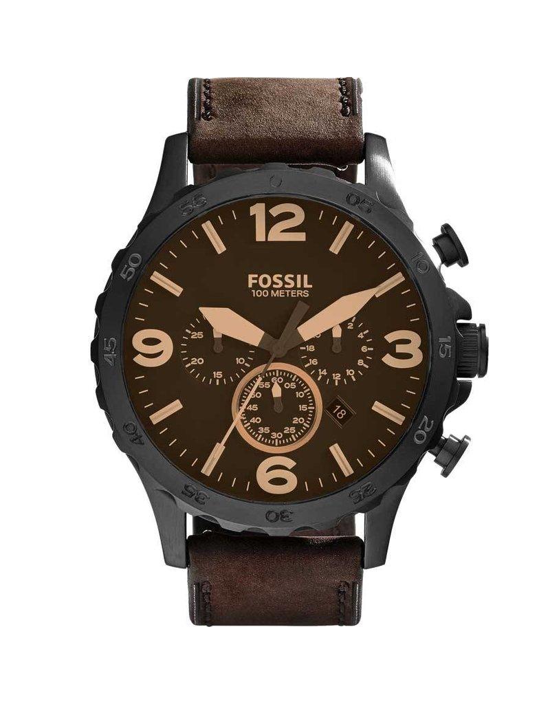 Fossil horloges Xl rd blk blk stp - JR1487