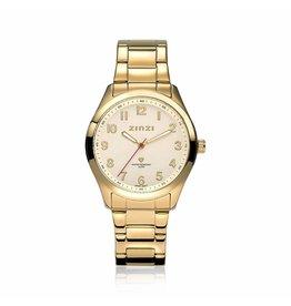 Zinzi horloges Watch Goud Gouden Plaat - ZIW213