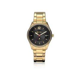 Zinzi horloges Watch Staal Goud Zwarte Plaat - ZIW313
