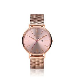 Zinzi horloges Zinzi Retro Rosé Rosé Meshband - ZIW405M