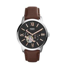 Fossil horloges Lg Rd Slv Brn Stp - ME3061