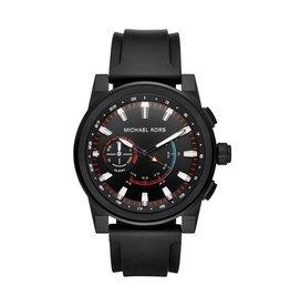 Michael Kors Wearables MK Access Hybrid Zwart Rubber - MKT4010