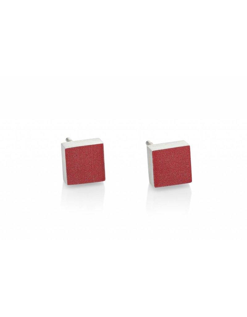 Clic Earring Red - O37RO