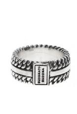 Buddha to Buddha Chain Texture Ring - 788