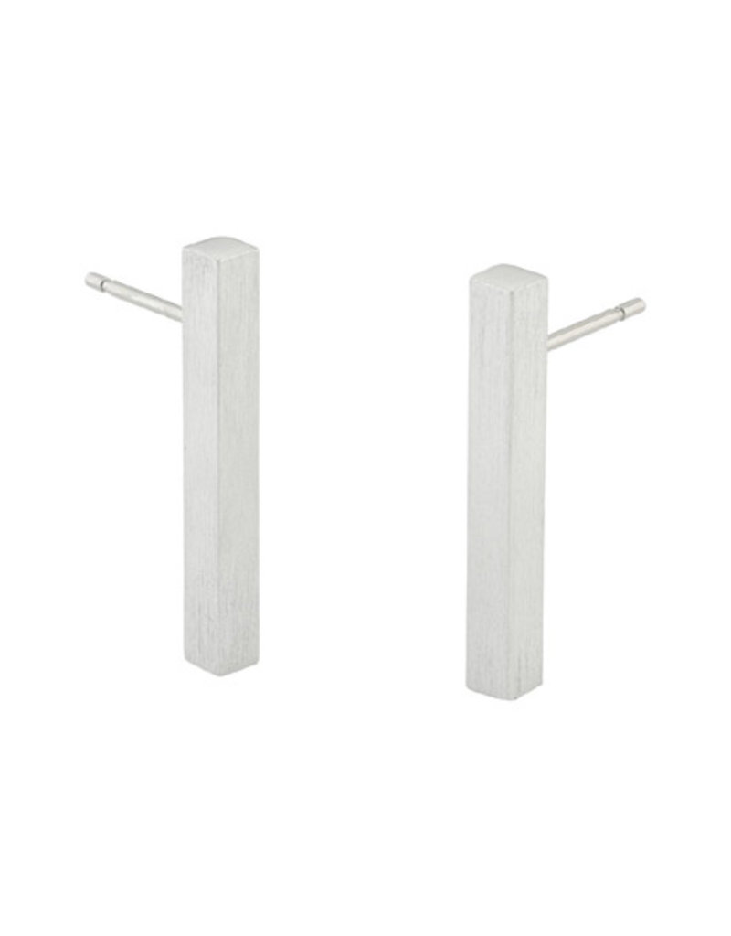 Clic Aluminium Earring Matte/Polish - O26