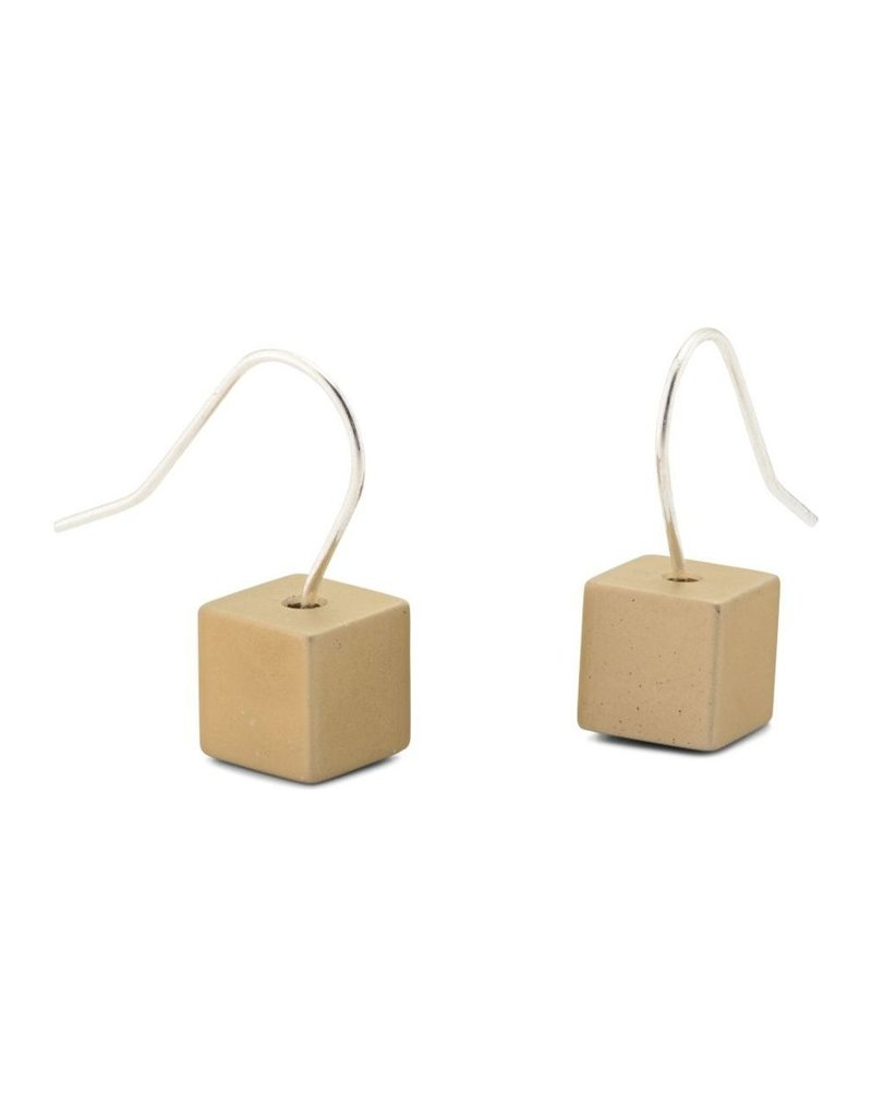 Clic Aluminium Earring Gold - O40GOLD