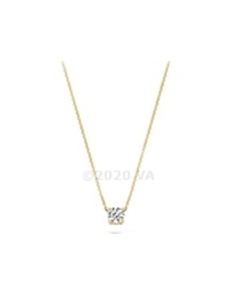 Blush 14 kt Blush Collier one 14K yellow gold Cz - 3049YZI
