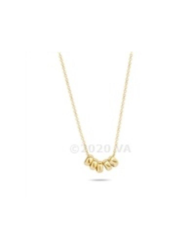 Blush 14 kt Blush Collier one 14K yg gold + yg chain  - 3087YGO