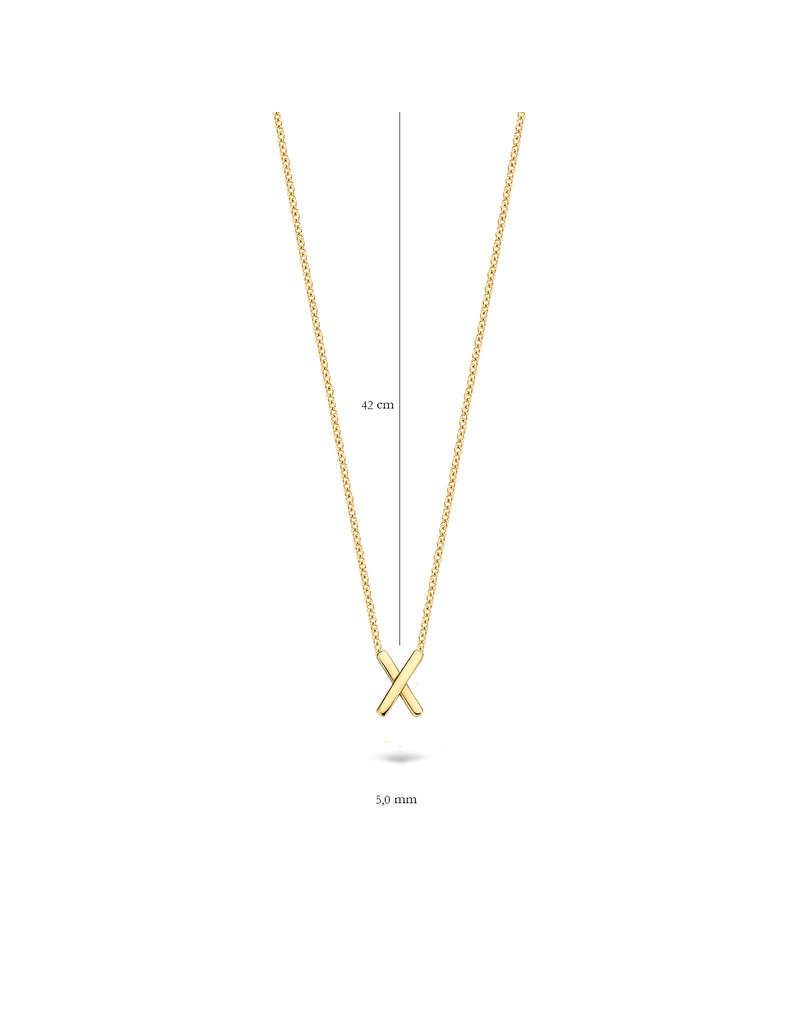 Blush 14 kt Blush Collier one 14K yellow gold  - 3094YGO