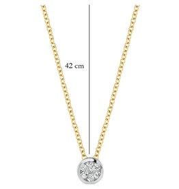 Blush 14 kt Blush Diamonds Collier one   Dia. 0.04 - 3600BDI