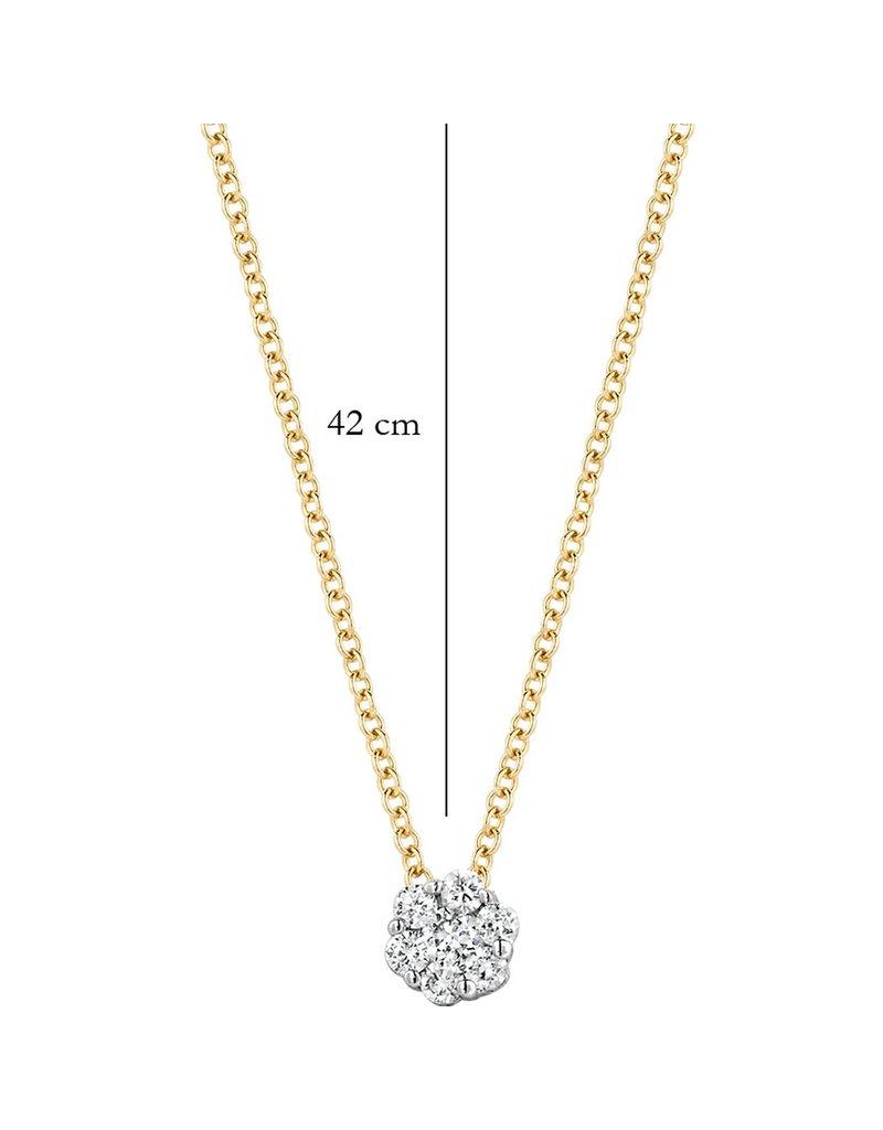 Blush 14 kt Blush Diamonds Collier one   Dia. 0.07 - 3602BDI