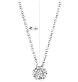 Blush 14 kt Blush Diamonds Collier one   Dia. 0.15 - 3603WDI