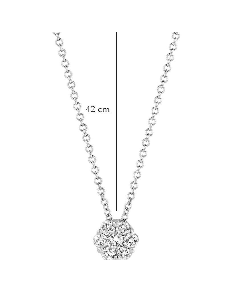 Blush 14 kt Blush Diamonds Collier one   Dia. 0.15 - 3603WDI