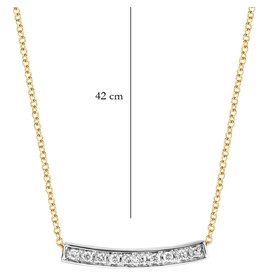 Blush 14 kt Blush Diamonds Collier one   Dia. 0.06 - 3605BDI