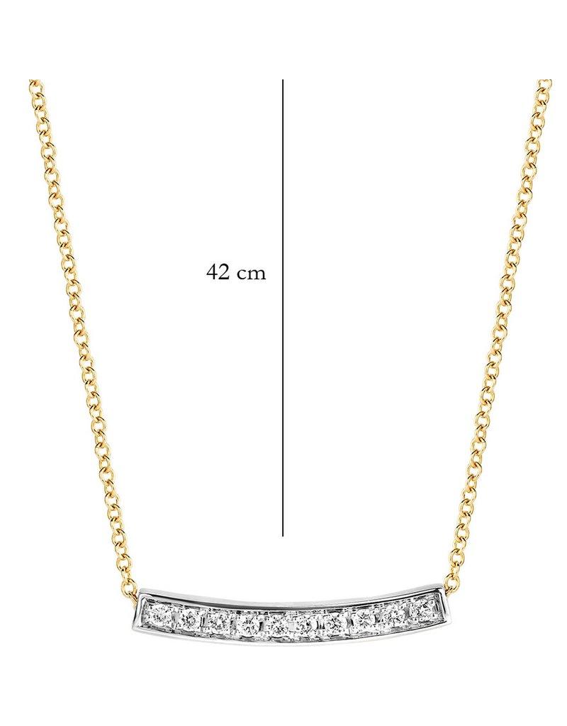 Blush 14 kt Blush Diamonds Collier one   Dia. 0.06 - 3605BDI